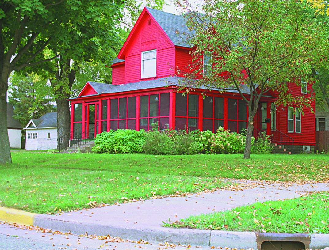 Remember The House With The Red