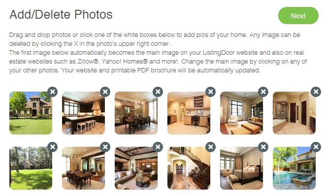 sell by owner - ListingDoor helps you add pictures of your home