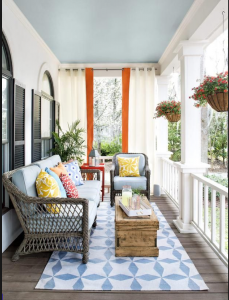 porch and patio staging.